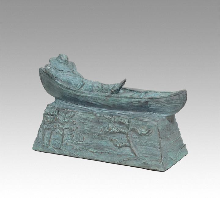 Northern Zen / $260 CAD Metal Infused, 10 ¼\