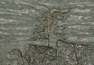 Storm Tree / $325 CAD Metal Infused, 16\